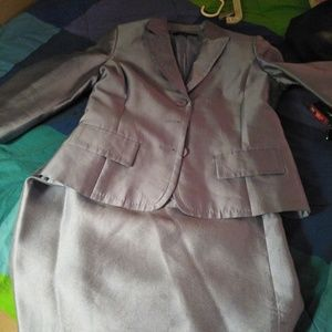 Anne Klein Silk Suit
